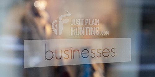 hunting businesses directory - just plain hunting