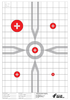 Just Plain Hunting Rifle Targets