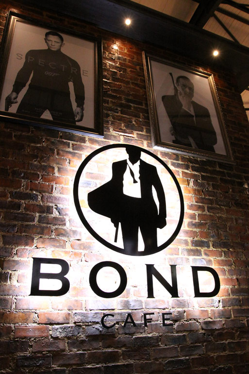 Bond Cafe - Logo Signage