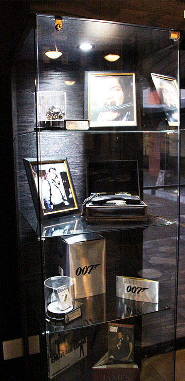 Bond Cafe - Display Cabinet