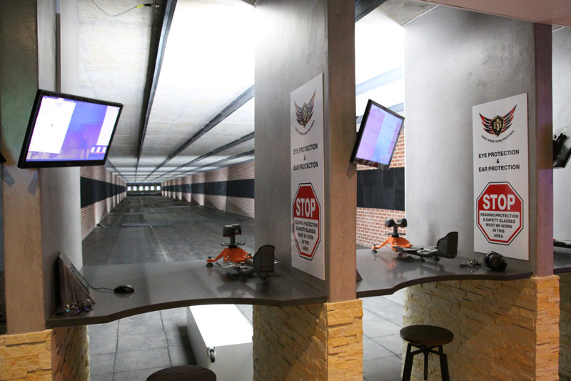 Dave Sheer Pretoria - 100m Indoor Range
