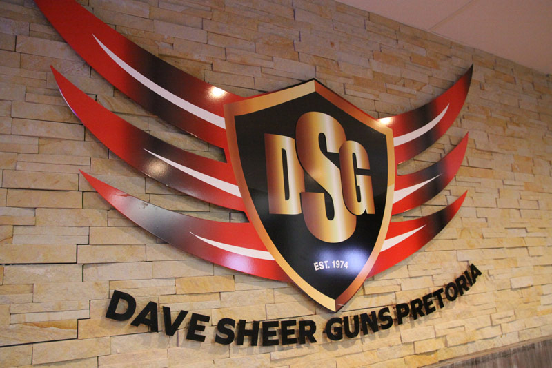 Dave Sheer Pretoria - 100m Indoor Range Signage
